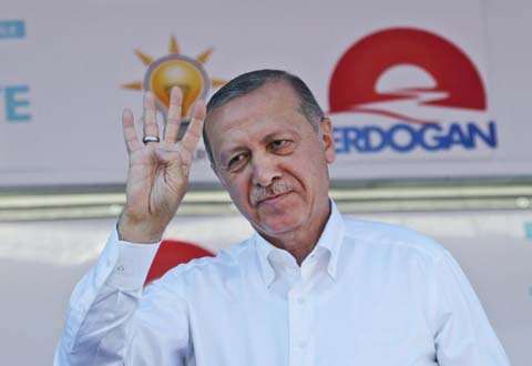 Erdogan seeks new term with greater powers