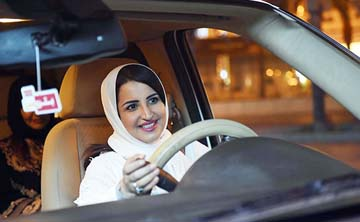 Saudi women take victory laps as driving ban ends
