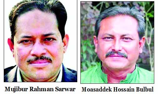 BNP picks Bulbul, Sarwar for RCC, BCC polls