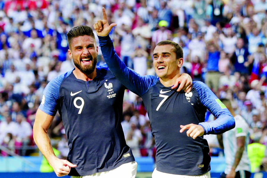 France move to quarter finals