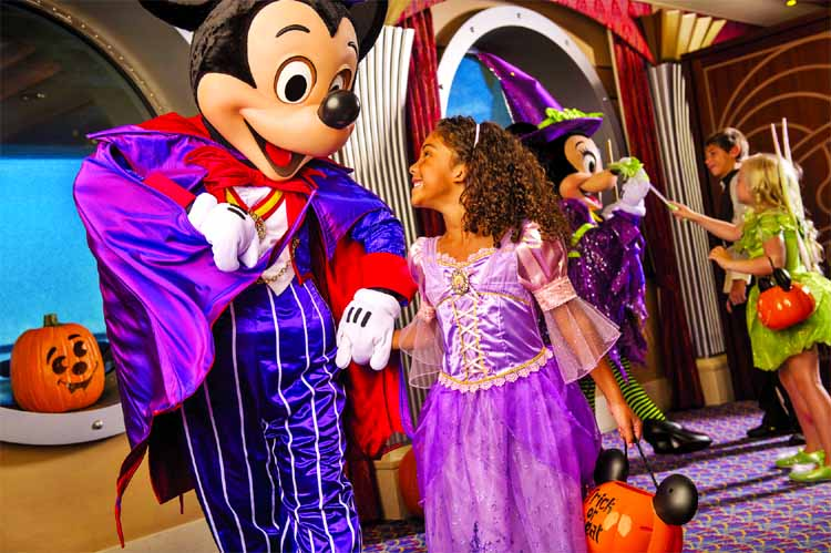The Disney cruise ship is going under major 'spooky-fication' and will be turned into a ghoulish wonderland on the high seas. The scary Halloween celebration will be packed with haunted tricks and fun-filled treats for the whole family