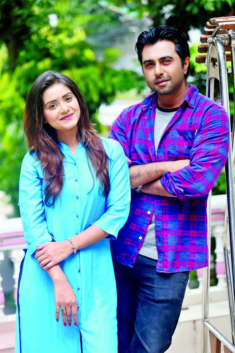Tanjin Tisha pairs up with Apurba for Eid play