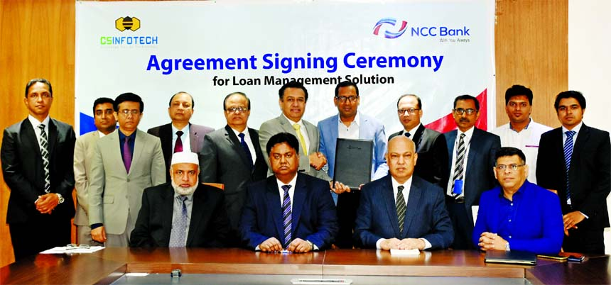 NCC Bank Limited has signed an agreement with Computer Source InfoTech Ltd for purchasing