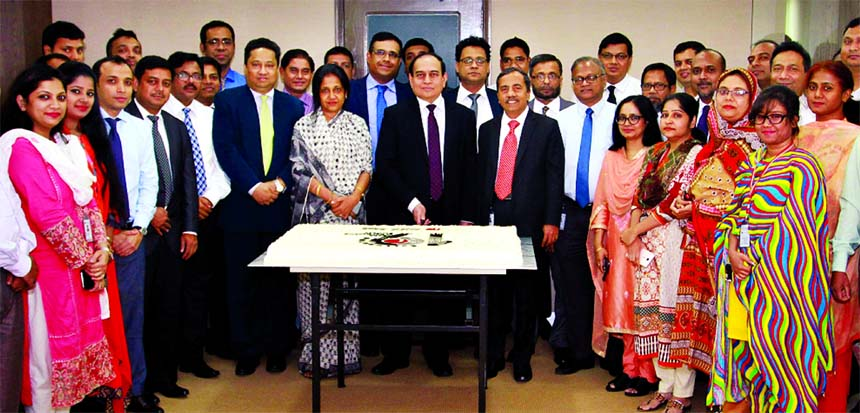 ONE Bank Limited arranged a simple ceremony on the occasion of its 19th Founding Anniversary of the bank at its head office on Sunday. M Fakhrul Alam, Managing Director along with Senior Executives and employees of the bank attended to mark the occasion. Presently, the bank is operating through 95 Branches, 90 ATM Booths and 19 Booths across the country.