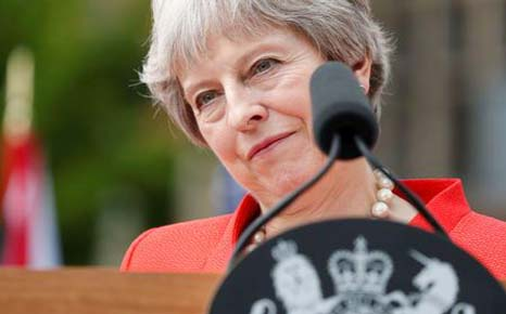 British PM May warns rebels Back me or risk no Brexit at all