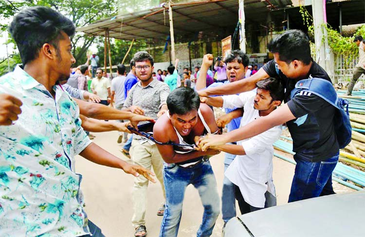 Teachers, students   attacked  afresh