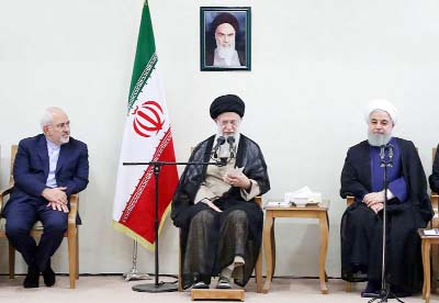 Khamenei seeks better ties with the world, apart from US