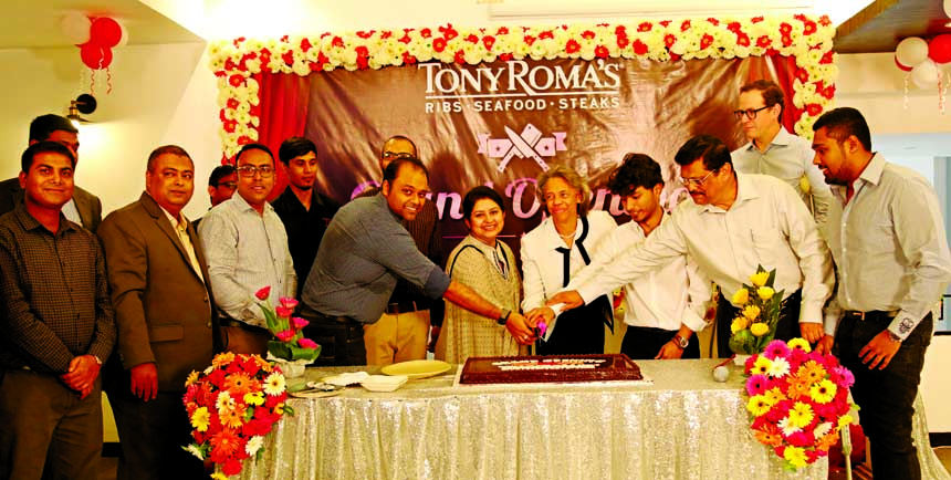 American Tony Roma now in Dhaka