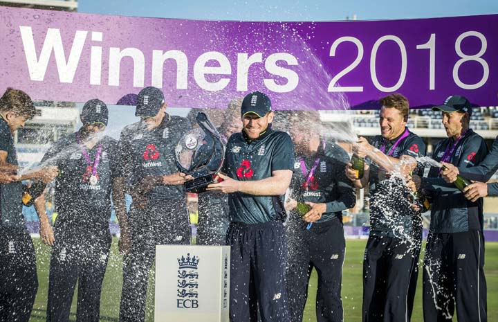 England coast to ODI series win over India