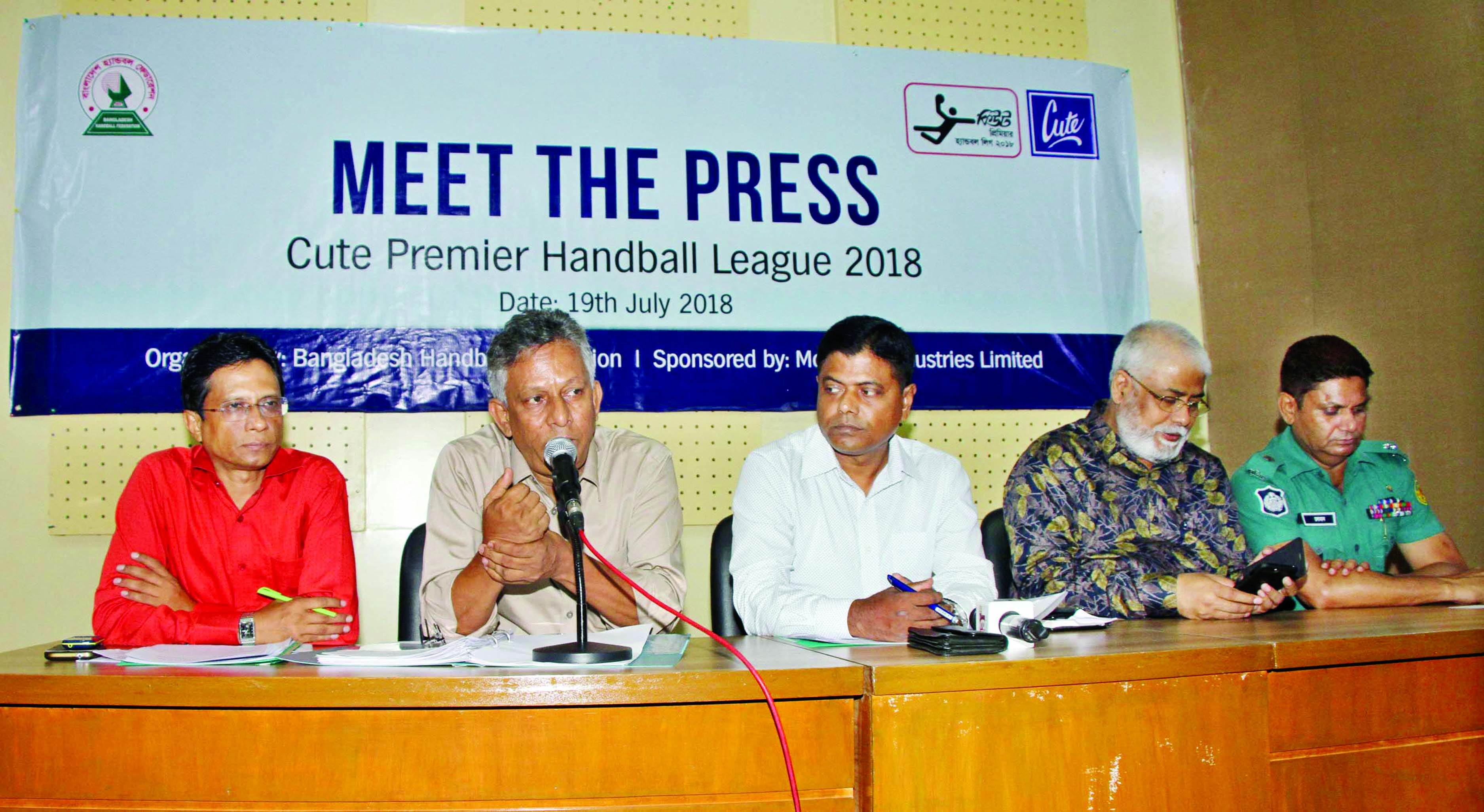 Cute Premier Handball League begins tomorrow
