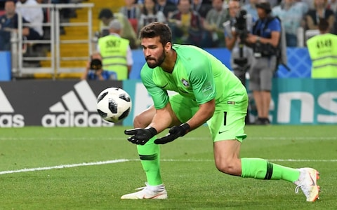 Liverpool agree Alisson fee with Roma