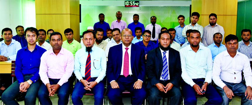 A day-long Training Workshop on 'Documentation and Property Valuation' was held at Al-Arafah Islami Bank Training and Research Institute recently. Managing Director of the Bank Md. Habibur Rahman inaugurated the course as Chief Guest. Principal of the Institute and Executive Vice President Md. Abdur Rahim Duary and Vice President of AIBTRI Touhid Siddique were also present on the occasion.