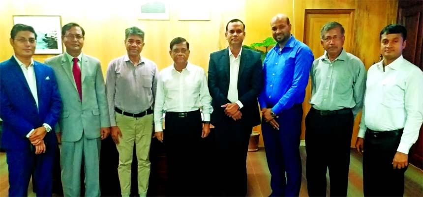 ICSB team meet IDRA chairman
