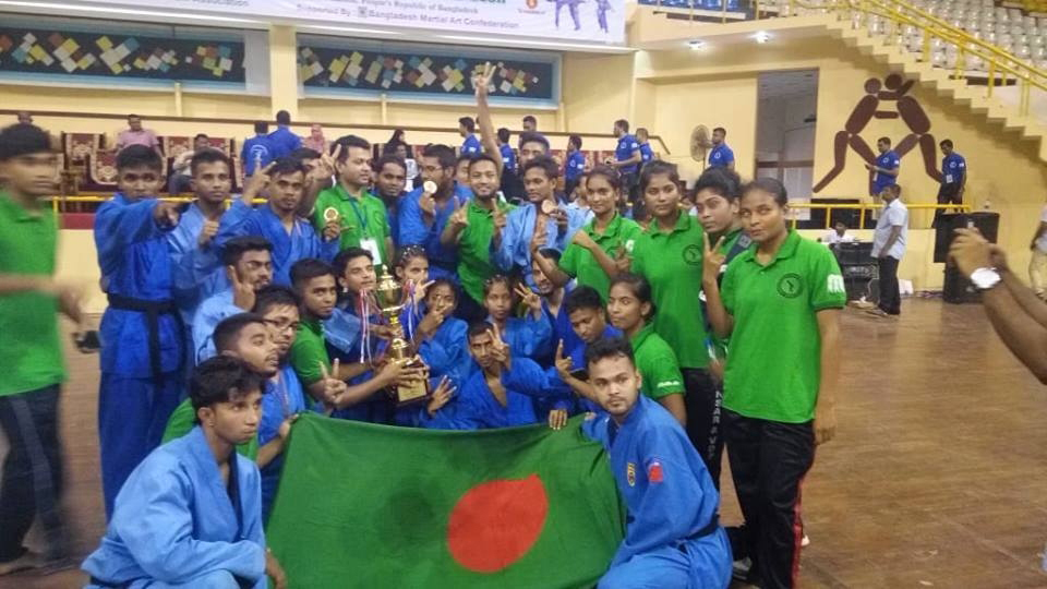 Bangladesh champs of 1st SA Vovinam