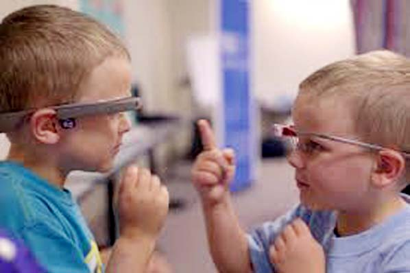 Google glass-based tech may help autism