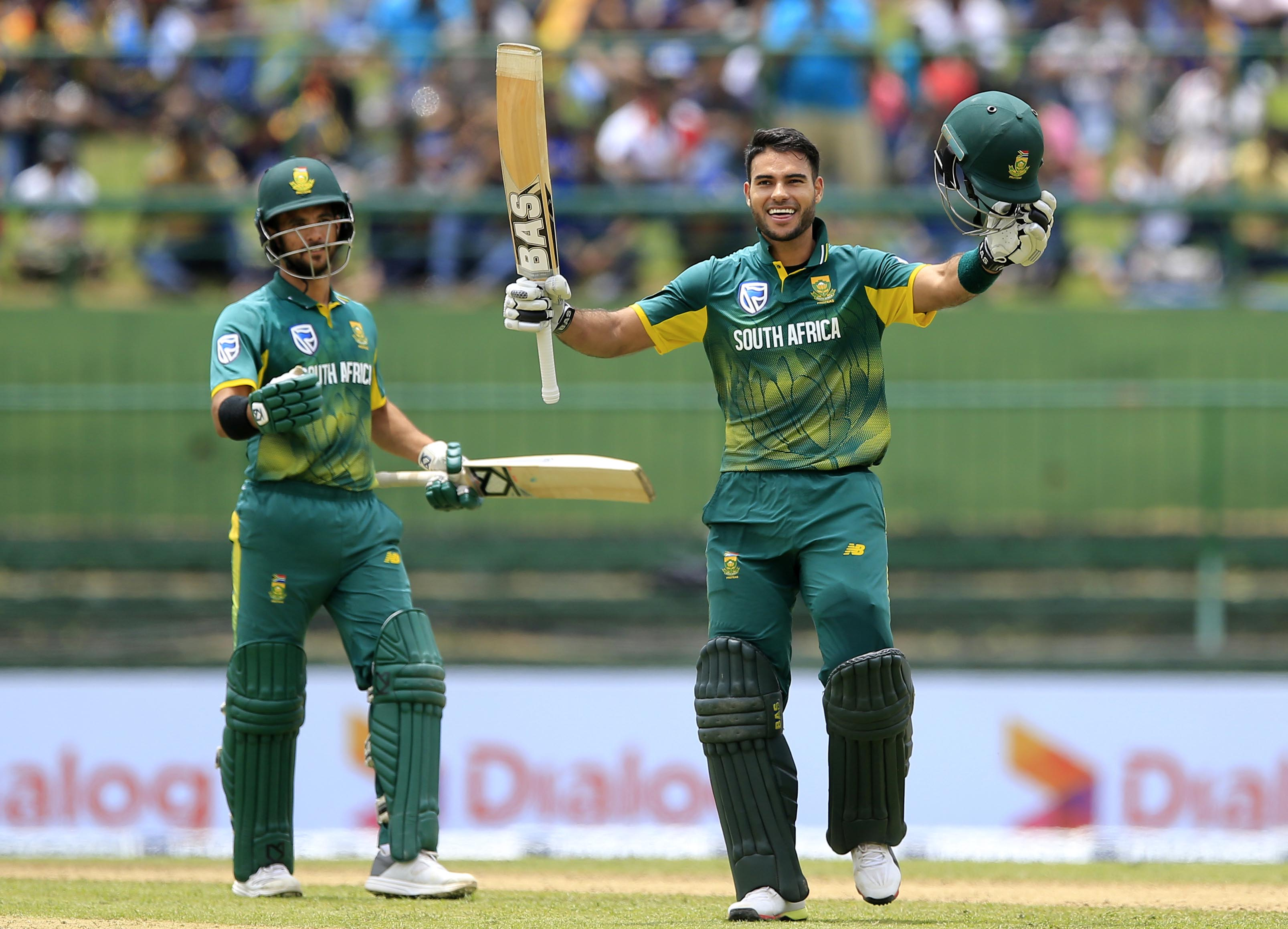 Hendricks' ton on debut inspires South Africa to clinch ODI series