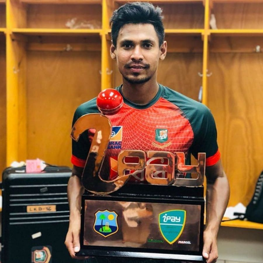 Mustafiz dims Mashrafe to be third-highest wicket-taker in T20Is