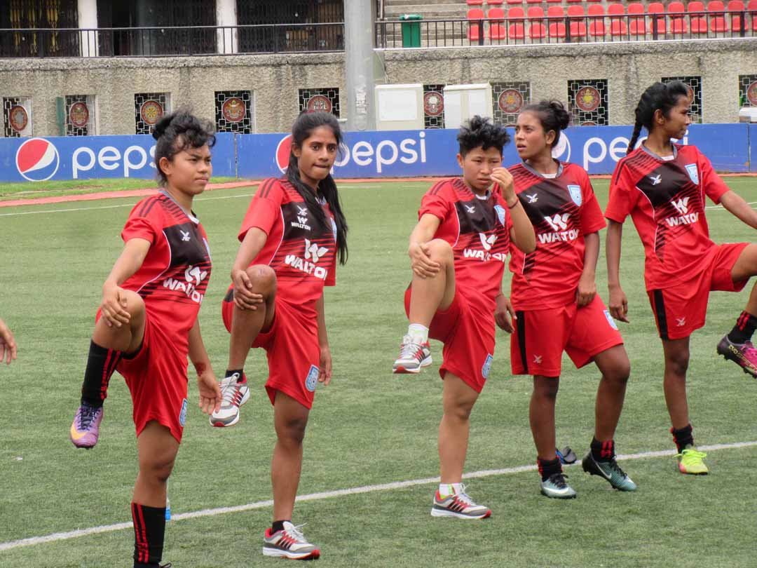 U-15 eve football team to start SAFF campaign tomorrow