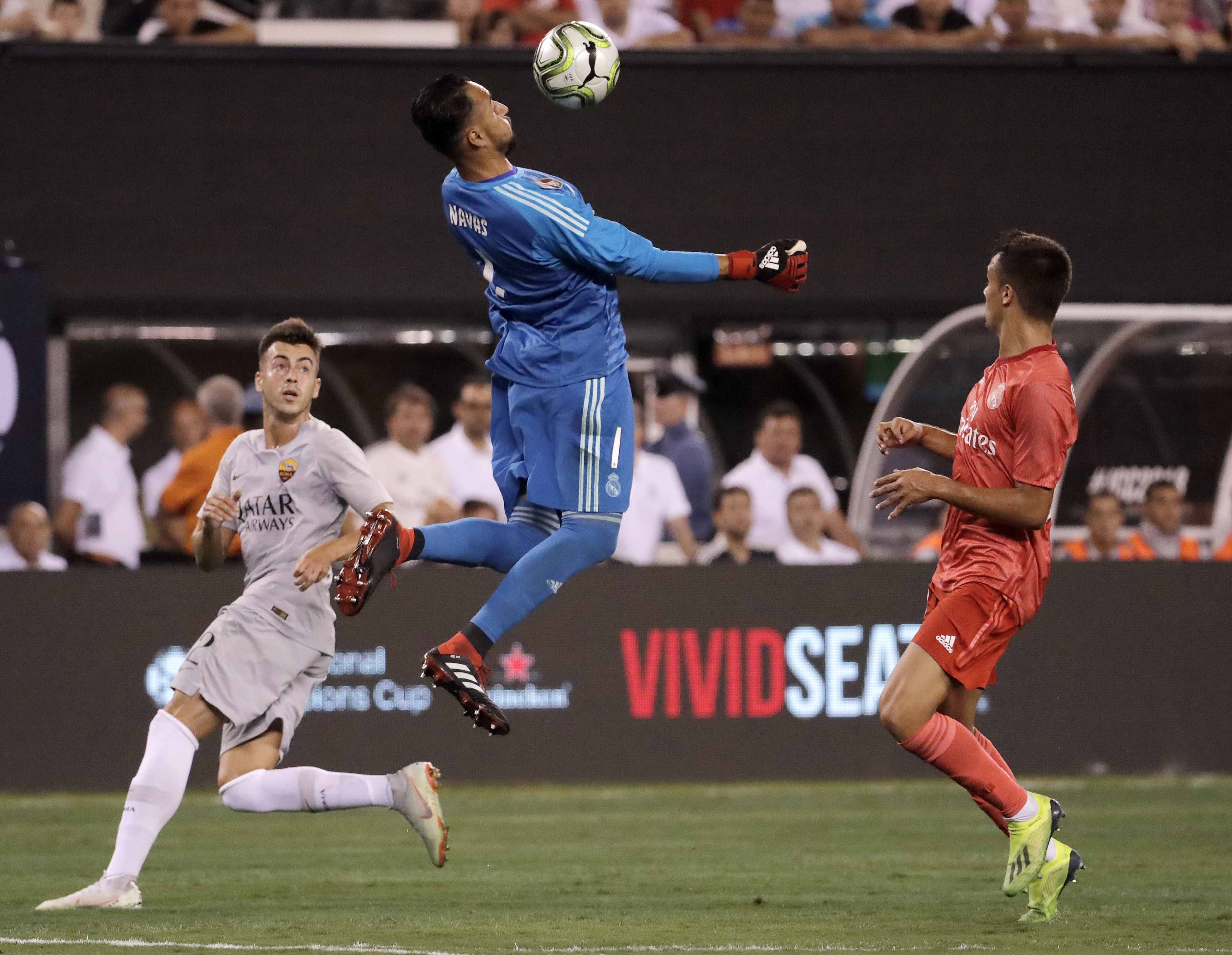 Real Madrid end US tour with 2-1 win over Roma