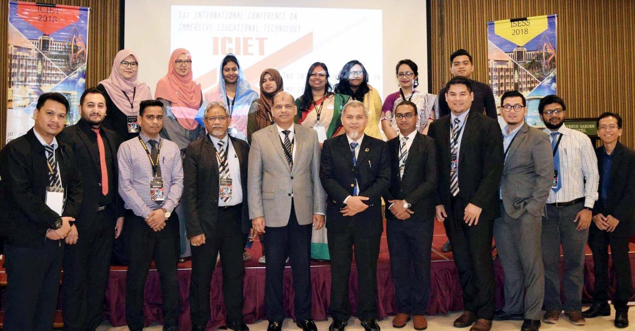 Prof Dr Yousuf M Islam, Vice Chancellor, Daffodil International University and Prof Rozhan, convener of the conference along with other distinguished guests at the inaugural ceremony of 2nd International Summit on Employability and Soft Skills Conference 2018 held in Malaysia recently.