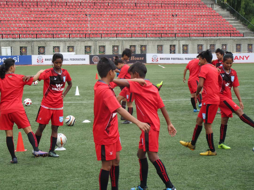 Girls upbeat to win against Nepal