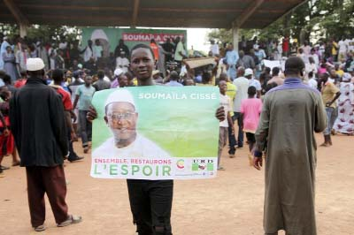 President Keita favorite to win Mali poll overshadowed by militant threat