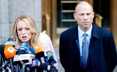 Stormy Daniels' lawyer says ready to take on Trump in 2020 elections