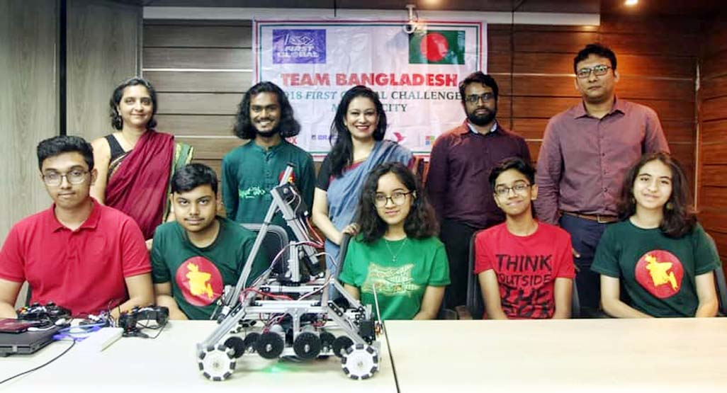 Bangladesh to compete in int'l robotic challenge in Mexico