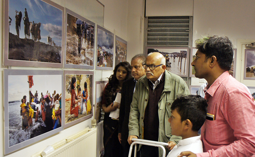 Fojit Sheikh Babu's photo exhibitions in UK