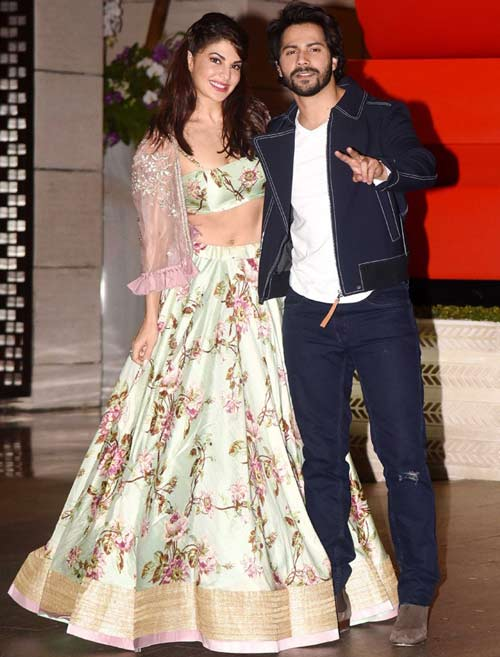 Varun Dhawan reveals special name for Jacqueline in his birthday wish