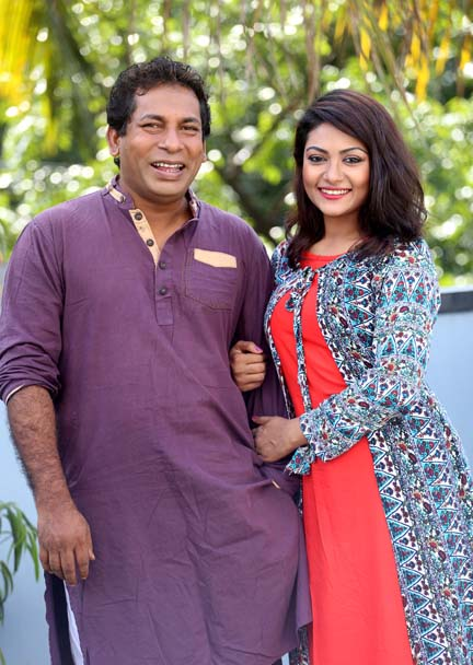 Mosharraf pairs up with Irin Afrose