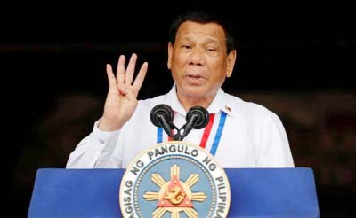China rebuffs Philippines President's South China Sea rebuke
