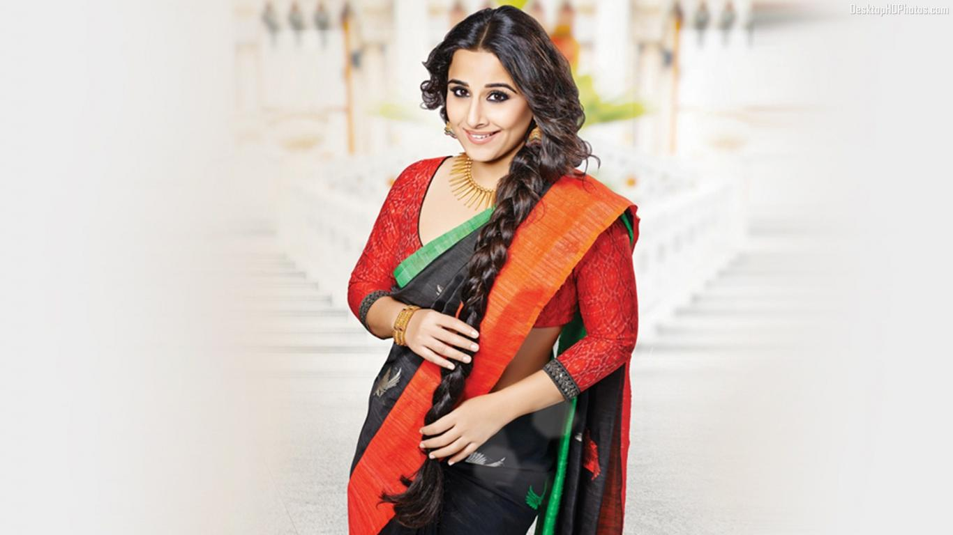 Vidya Balan as Indira Gandhi in a biopic