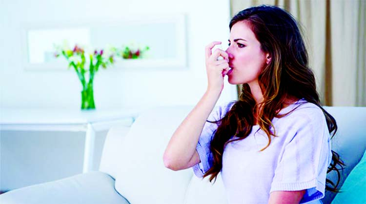 Women suffering from asthma may get chronic lung diseases