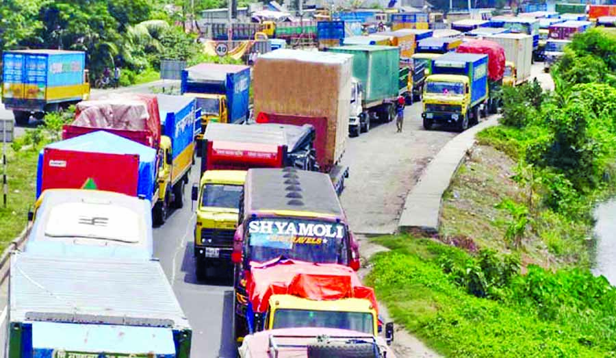 35 Km tailback on Dhaka-Ctg highway