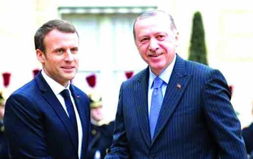 Erdogan, Macron vow to foster trade ties