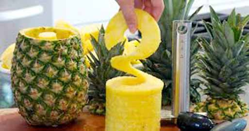 Can pineapples be used to heal wounds?