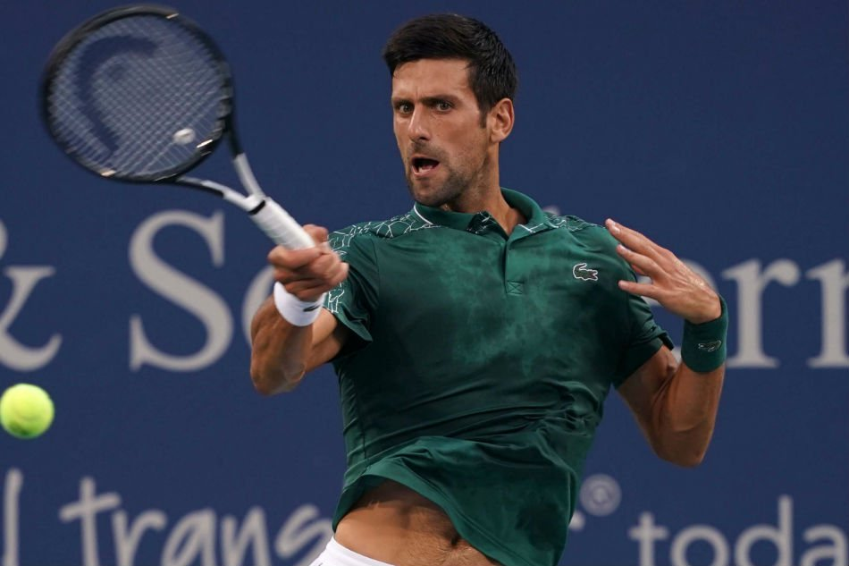 Rain slows Djokovic in Cincy