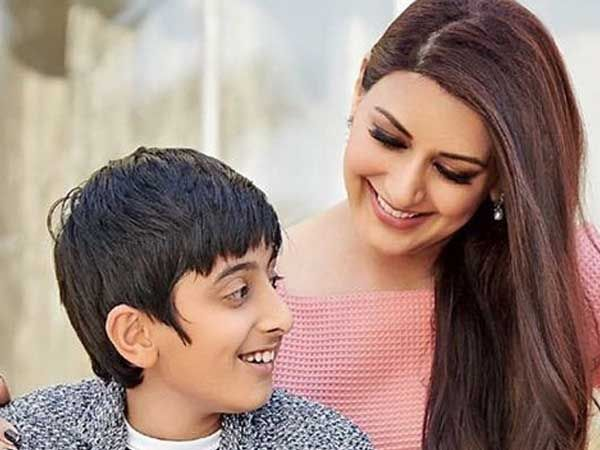 Sonali Bendre`s son posts an emotional message