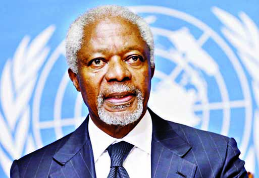 Ex UN chief Kofi Annan dies at 80