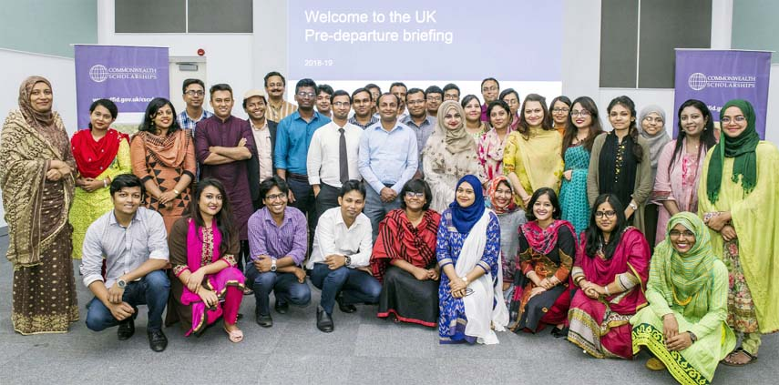 Commonwealth Scholarship awardees unite at the British Council