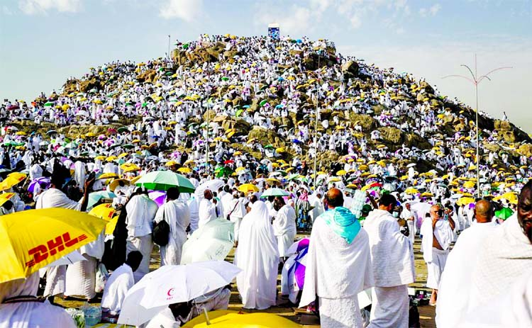 Islam preaches respectful behaviour, good character: Hajj sermon