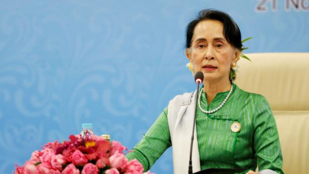 Myanmar`s Suu Kyi says Bangladesh must decide how quickly to repatriate Rohingyas