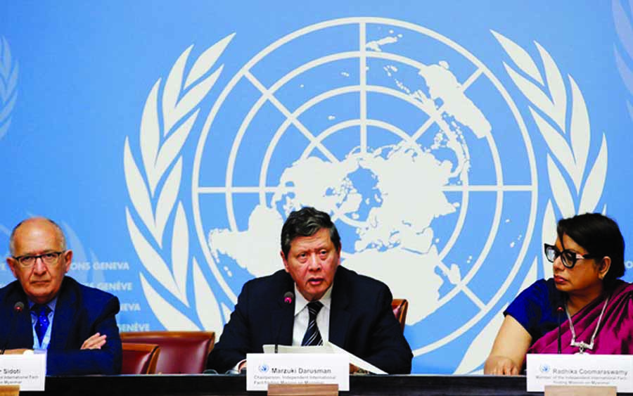 Suu Kyi failed to intervene to stop violence: UN report wants ICC involvement