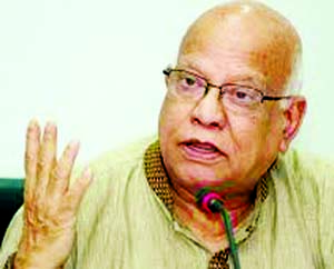 *No reps of BNP, civil society, says Muhith *National elections on Dec 27 likely