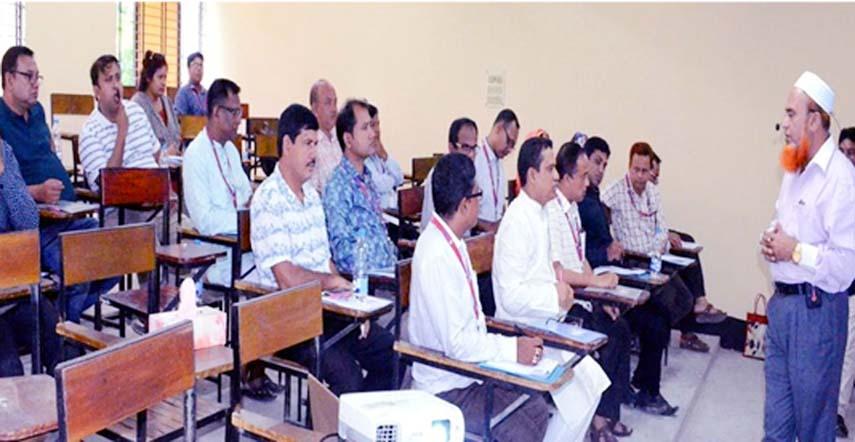 Training on efficient institutional financial management at BRU