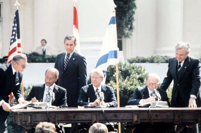 Mideast peace hopes at Camp David 40 years ago