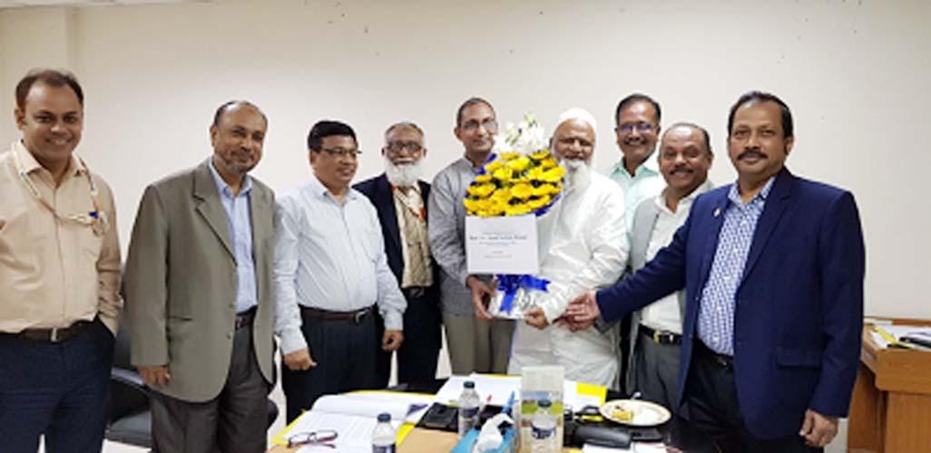 Dr Ferhat joins IBA, DU