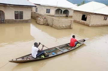 Nigeria floods kill more than 100