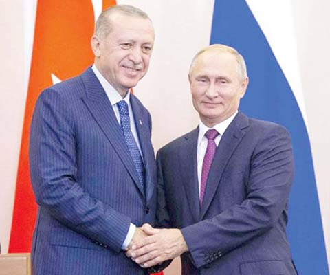 Russia says no Syria assault as Putin, Erdogan agree Idlib plan
